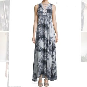 Suboo Shady Palms Sleeveless Jersey Maxi US 2